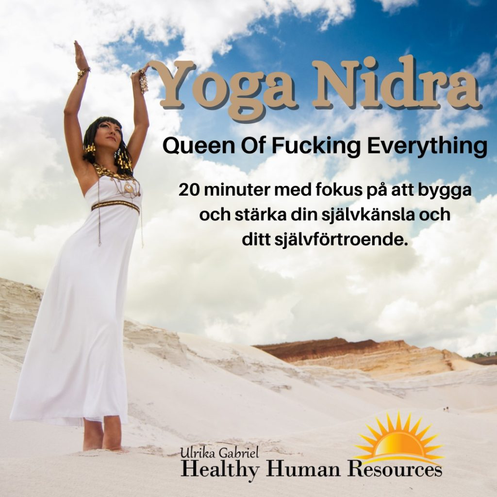 Yoga Nidra stärk självkänslan och självförtroendet